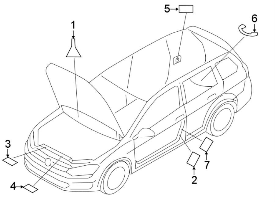2017 Volkswagen Beetle Convertible Air Bag Information