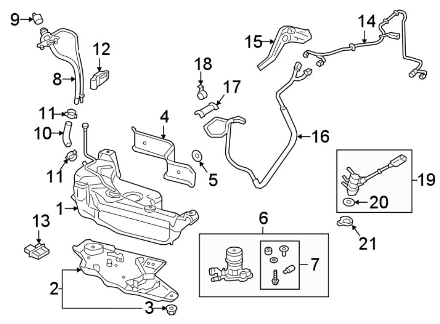2015 Volkswagen SportWagen Diesel Exhaust Fluid (DEF) Pump