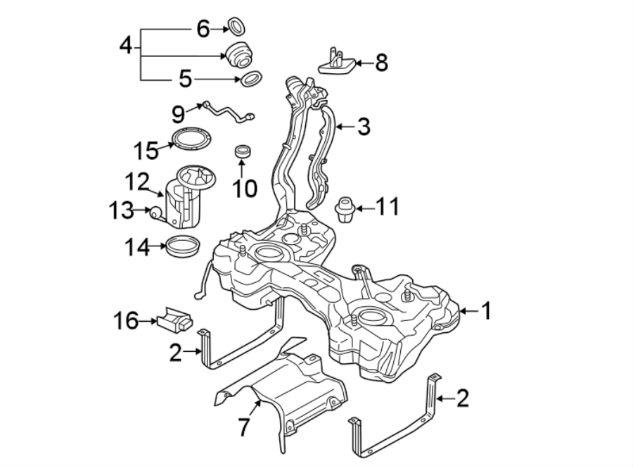 2013 Volkswagen GTI Fuel Pump Driver Module. SYSTEM, WAWD