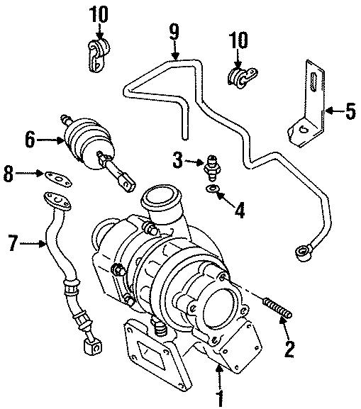 1992 Volkswagen Fox Oil. Seal. Washer. (Lower). 4 CYLINDER