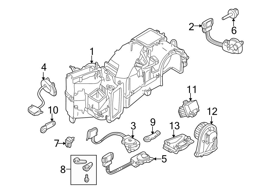1999 Volkswagen Golf Control. Module. HVAC. Blower, Motor
