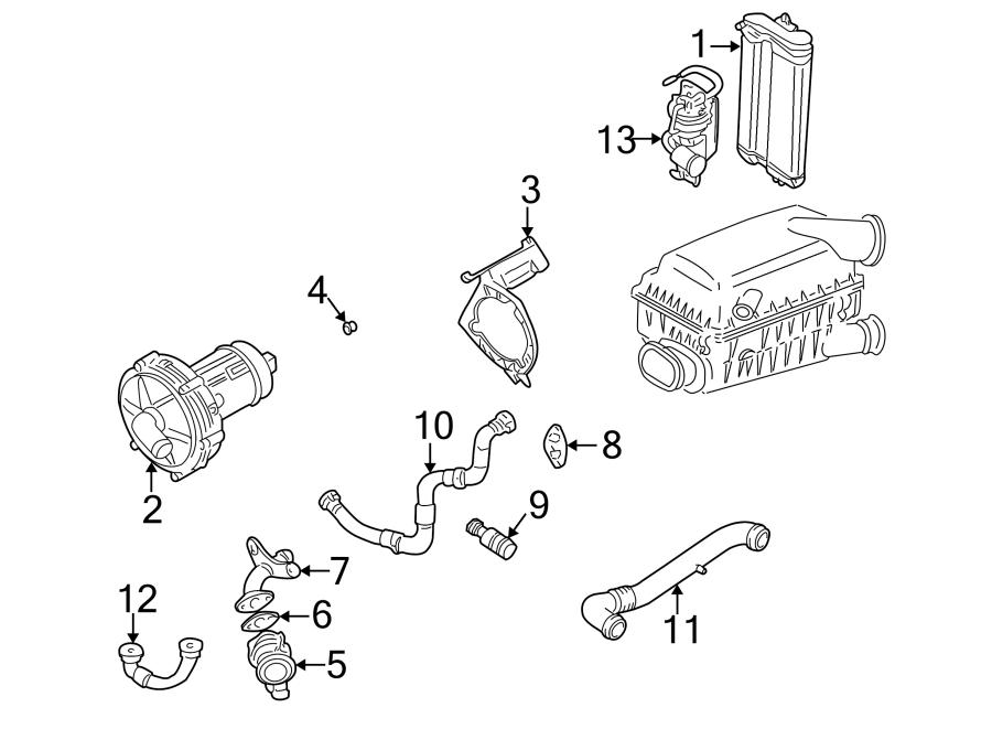 2004 Volkswagen Golf Secondary Air Injection Pump