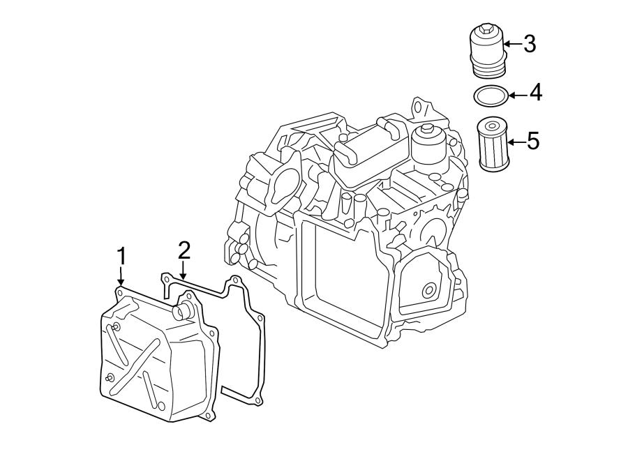 2010 Volkswagen Jetta Filter element. Oil filter