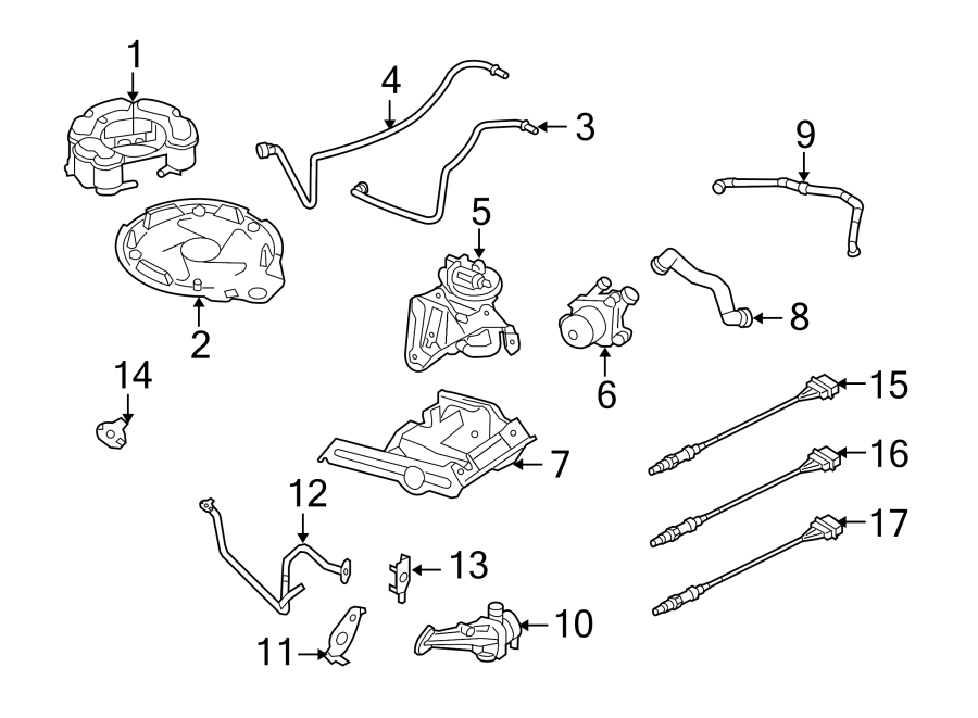 2013 Volkswagen Beetle Convertible Flap. Secondary Air