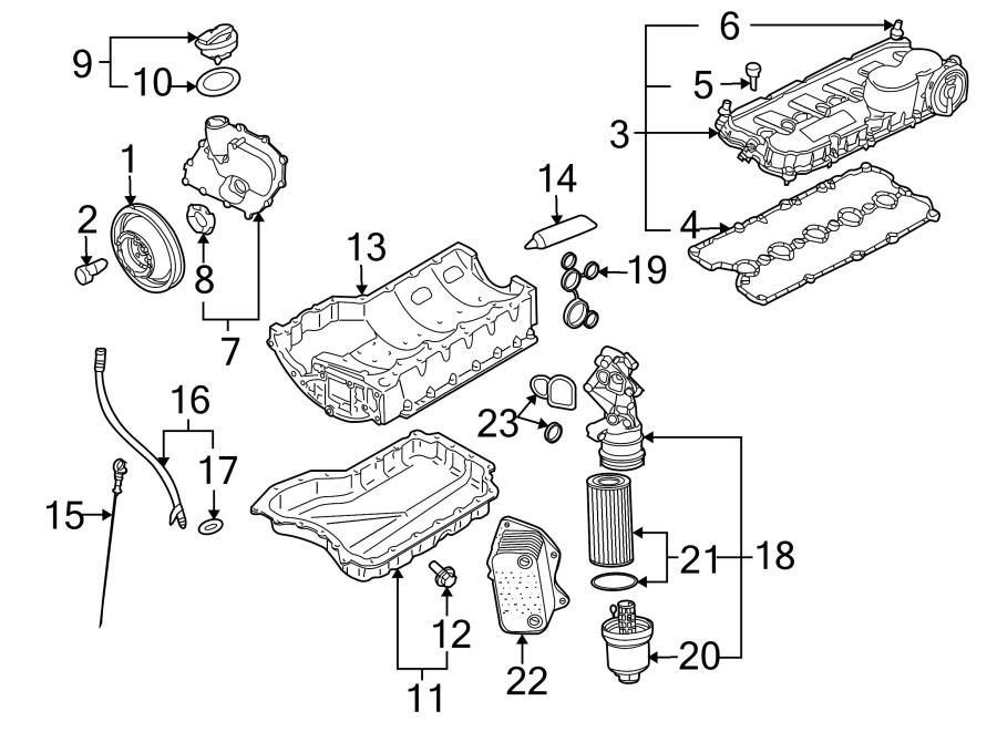 2009 Volkswagen Jetta Wagon Engine Intake Manifold. 2.5