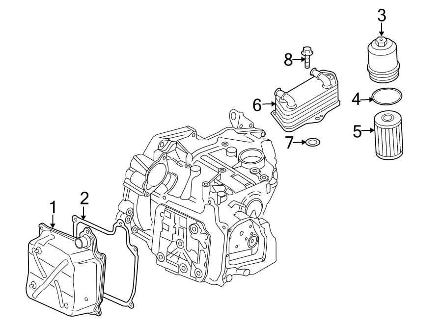 2013 Volkswagen Beetle Filter element. Filterelem