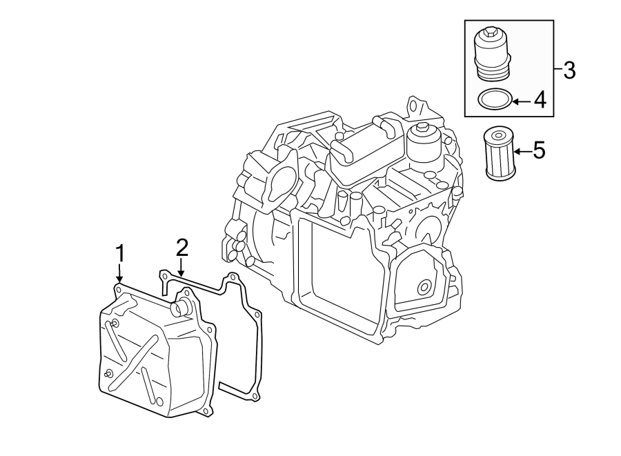 2015 Volkswagen Jetta Automatic Transmission Oil Pan Drain