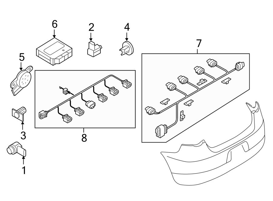 2015 Volkswagen Eos Contour unit. Control module. Eos; all