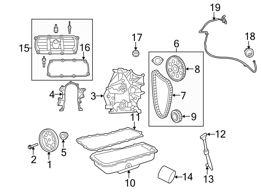 2009 Volkswagen Routan Gear. Timing. Camshaft. Engine. Set