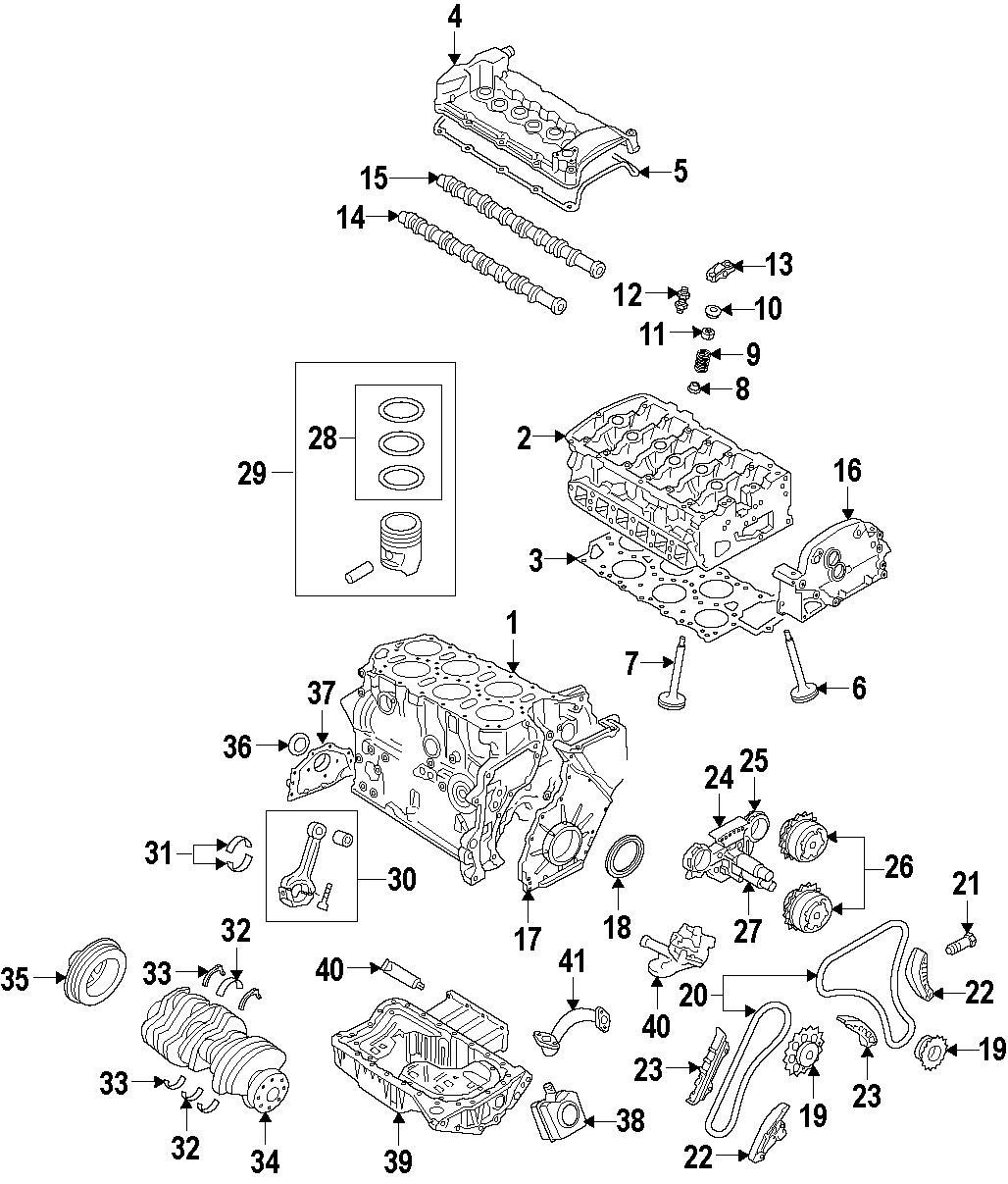 2013 Volkswagen Touareg Engine Rocker Arm. Engine Rocker