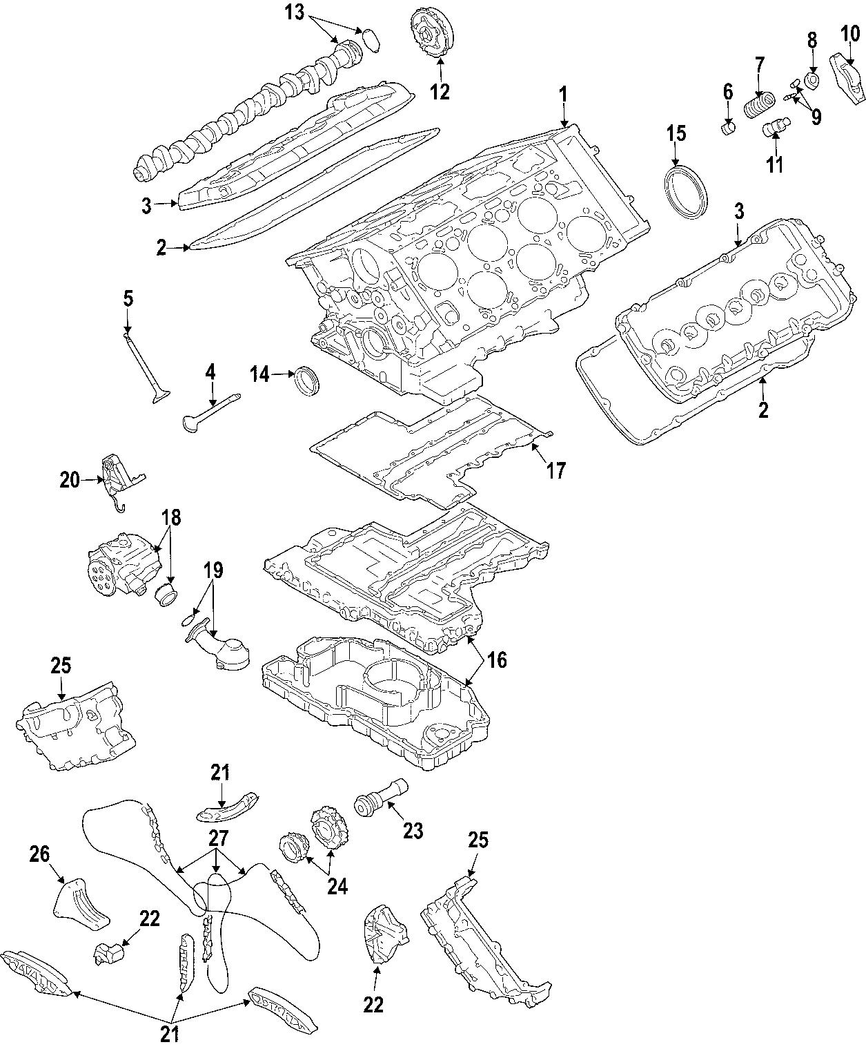 Volkswagen Phaeton Engine Mount Motor Mount Rubb