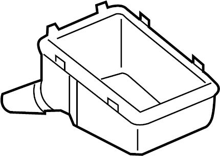 2008 Volkswagen GTI Box. Relay. Bracket. Grommet. ENGINE