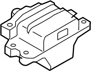 2009 Volkswagen Jetta GLI Automatic Transmission Mount