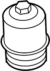 2012 Volkswagen Beetle Transmission Filter Housing. Audi
