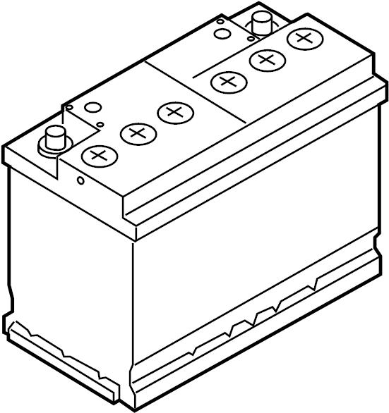 2016 Volkswagen Touareg Battery. Vehicle Battery. Audi