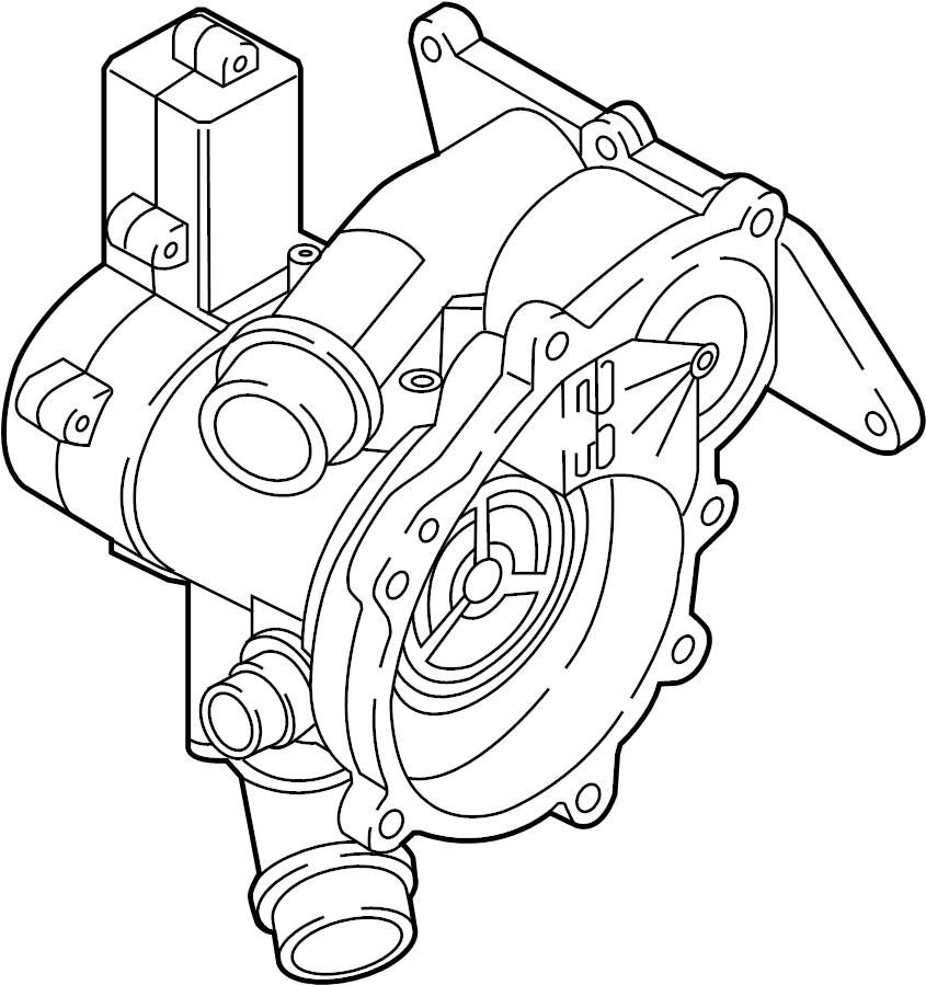 2016 Volkswagen Golf R Thermostat. Audi; volkswagen