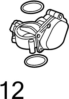 2004 Volkswagen Golf Ring. Seal. Regulator. LITER, GAS