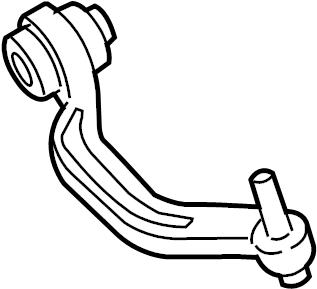 2004 Volkswagen Phaeton Lower link. Rr lwr cntl arm