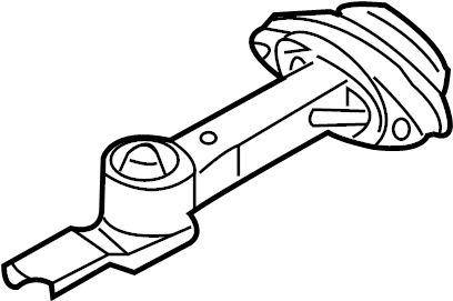 2003 Volkswagen Jetta Engine Mount (Rear). LITER, Trans