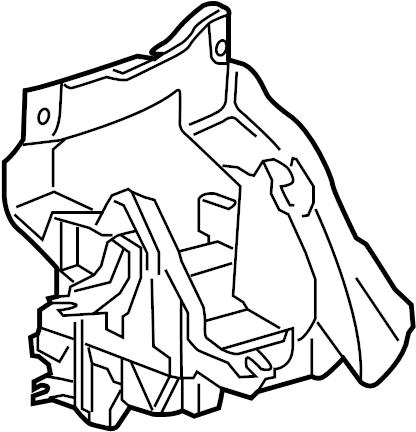 2012 Volkswagen Eos Bracket. Module. Control. VIN