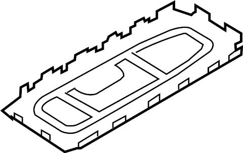2010 Volkswagen GTI Manual Transmission Shift Lever