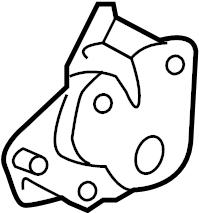 2009 Volkswagen Passat Seat Adjuster. Cushion, ComponentS