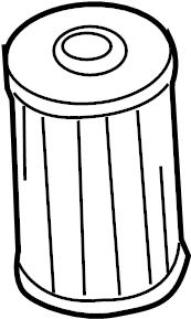 2016 Volkswagen Jetta GLI Filter element. Oil filter