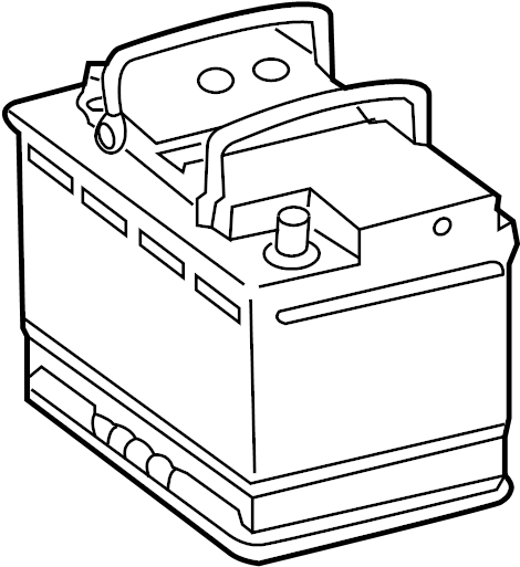 2016 Volkswagen Passat Battery. Vehicle Battery. Audi