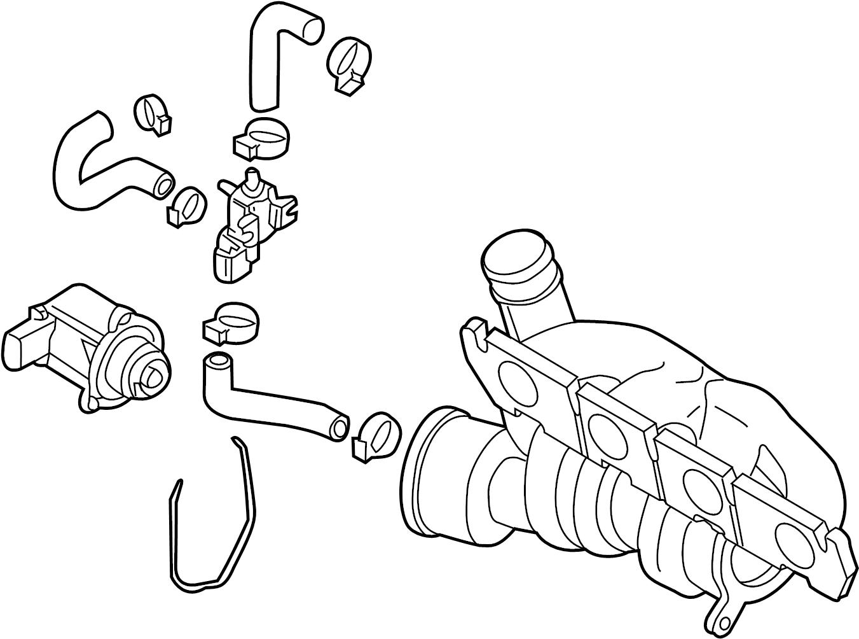 Volkswagen Cc Turbocharger Exhaust
