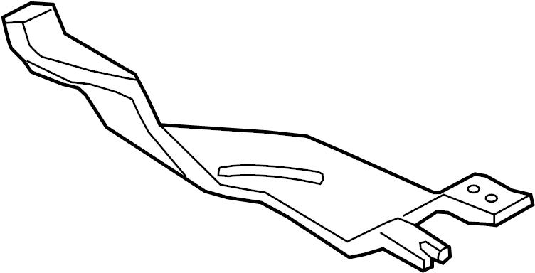 2006 Volkswagen Passat Instrument Panel Air Duct (Rear