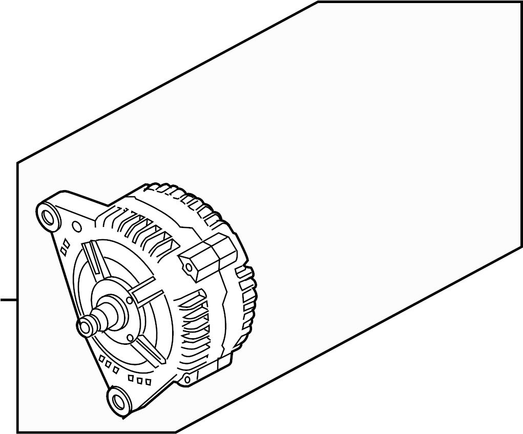 2010 Volkswagen Touareg Alternator. Reman. Amp, LITER