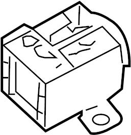 2007 Volkswagen Passat Fuse. Relay. Socket. Accessory