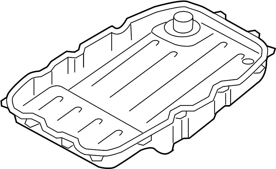 2005 Volkswagen Touareg Automatic Transmission Oil Pan