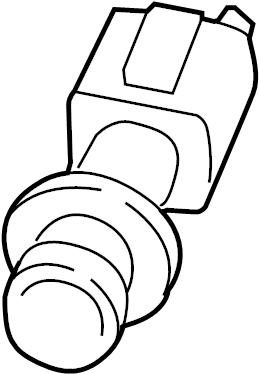 2010 Volkswagen Beetle Convertible Back Up Light Socket