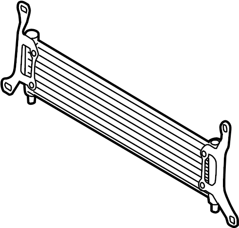 2007 Volkswagen Touareg Aux radiator. Radiator. 3.0 LITER