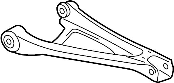 2006 Volkswagen Touareg Suspension Control Arm