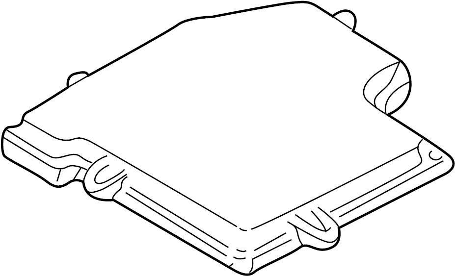 2003 Volkswagen Passat Cover. ECM. Engine Control Module