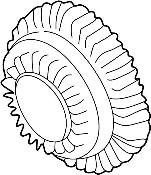 1999 Volkswagen Passat Coupling. Engine cooling fan clutch