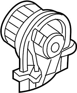 2004 Volkswagen Beetle Convertible Blower. Motor. Fan
