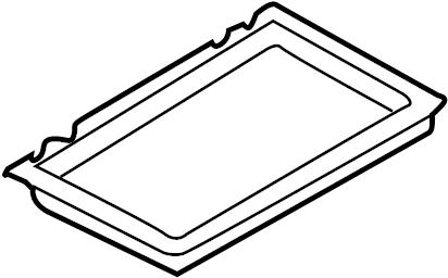 2001 Volkswagen Cabrio Filter. Air. Cabin. Case. Frame