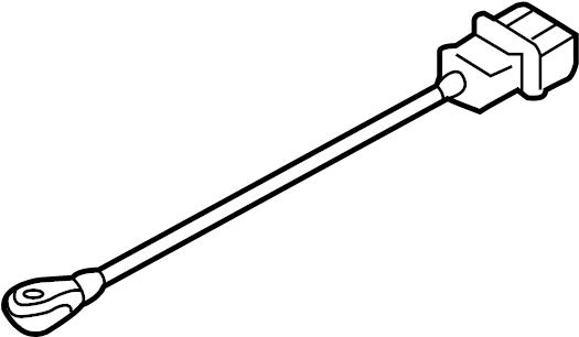2000 Volkswagen Jetta Ignition Knock (Detonation) Sensor