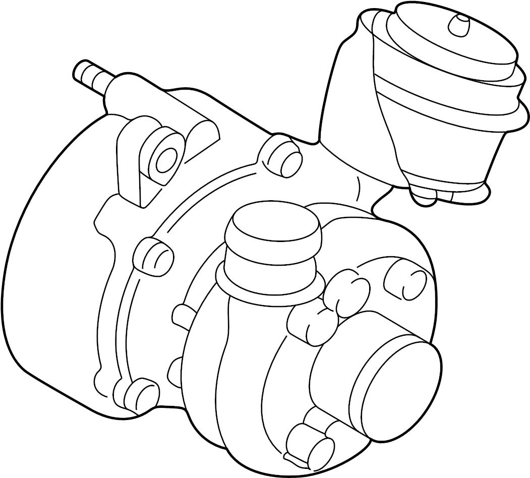 2005 Volkswagen Beetle Exmanturbo. Turbocharger. Incl