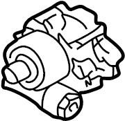 1998 Volkswagen Jetta Power Steering Pump. Cylinder, LITER