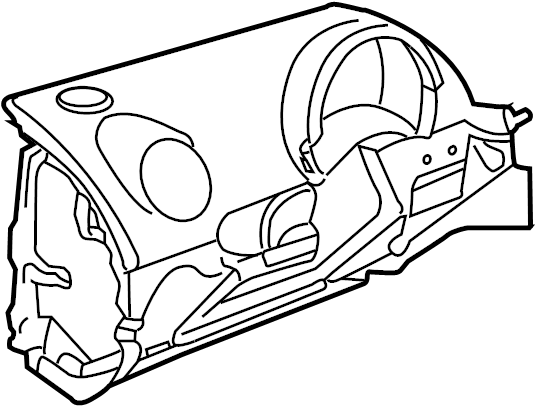 2001 Volkswagen Beetle Cover. Instrument. Panel. Blank