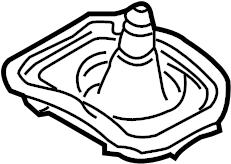 2004 Volkswagen Beetle Sound absorber. Manual, Trans