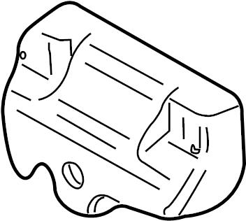2005 Volkswagen Jetta GLI Exhaust Manifold Heat Shield
