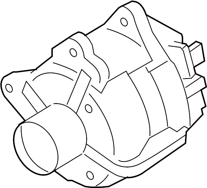2010 Volkswagen Beetle Alternator. 140 Amp. LITER, New