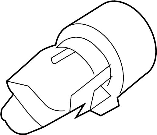 2009 Volkswagen Beetle Convertible Side Marker Light