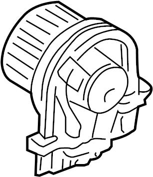 1997 Volkswagen Golf Blower. Motor. Fan. HVAC. AND. HEATER
