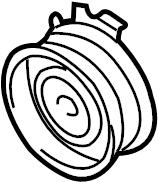 2014 Volkswagen SportWagen Engine Timing Belt Tensioner